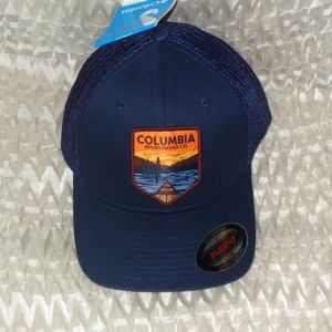 Columbia Mesh Park Patch Cap with Tags COLLEGIATE